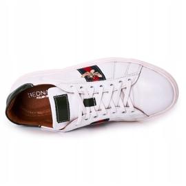Bednarek Polish Shoes Men's Leather Shoes Sneakers Bednarek White 1
