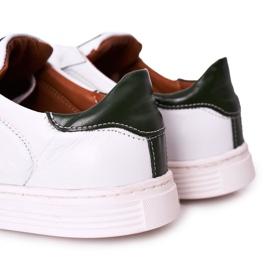 Bednarek Polish Shoes Men's Leather Shoes Sneakers Bednarek White 2