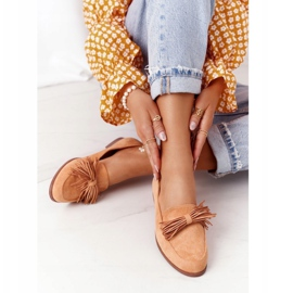 EVE Fringed Suede Loafers Camel Alicante brown 5
