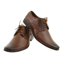 Lukas 447 brown men's formal shoes 8