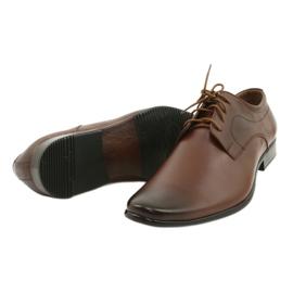 Lukas 447 brown men's formal shoes 9