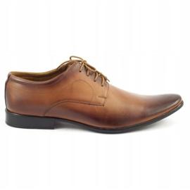 Lukas 447 brown men's formal shoes 1