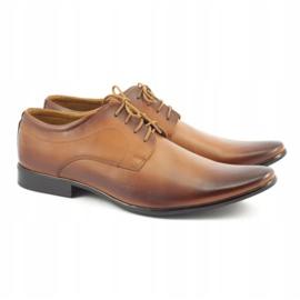 Lukas 447 brown men's formal shoes 3