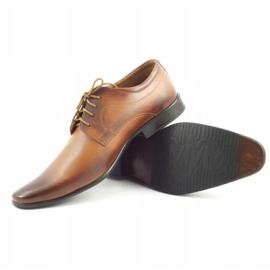 Lukas 447 brown men's formal shoes 4