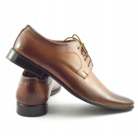 Lukas 447 brown men's formal shoes 5