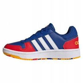 Adidas Hoops 2.0 Jr FY7016 shoes navy blue blue 1