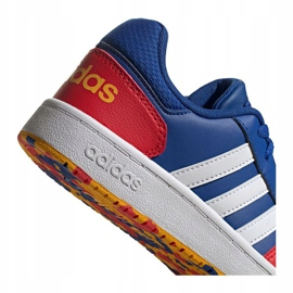 Adidas Hoops 2.0 Jr FY7016 shoes navy blue blue 2