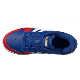Adidas Hoops 2.0 Jr FY7016 shoes navy blue blue 4