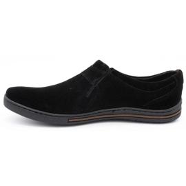 Polbut Men's Brogues Leather-Eko 362 black 1