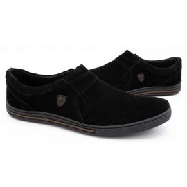 Polbut Men's Brogues Leather-Eko 362 black 4