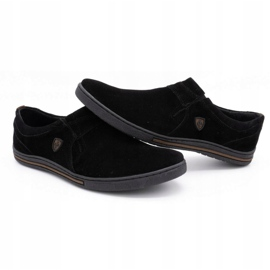 Polbut Men's Brogues Leather-Eko 362 black 5