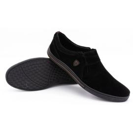 Polbut Men's Brogues Leather-Eko 362 black 6