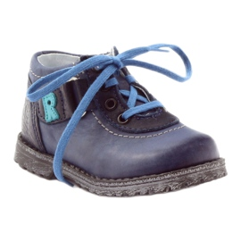 Boys' shoes Ren But 1456 navy blue multicolored grey 1