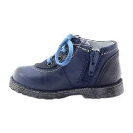 Boys' shoes Ren But 1456 navy blue multicolored grey 2