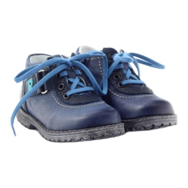 Boys' shoes Ren But 1456 navy blue multicolored grey 4