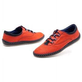 Olivier Casual men's shoes 312K red nubuck 9