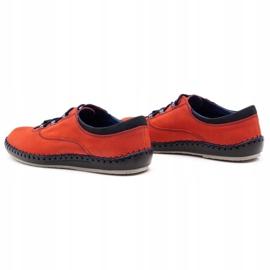 Olivier Casual men's shoes 312K red nubuck 10
