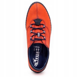 Olivier Casual men's shoes 312K red nubuck 11