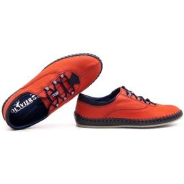 Olivier Casual men's shoes 312K red nubuck 2