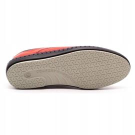 Olivier Casual men's shoes 312K red grain 4