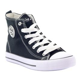 American Club High Sneakers LH02 black 1