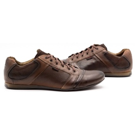 Lemar Men's leather shoes 882 brown 5