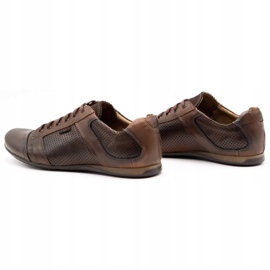 Lemar Men's leather shoes 882 brown 7
