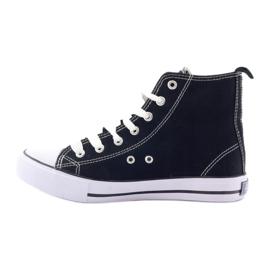 American Club High Sneakers LH02 black 2
