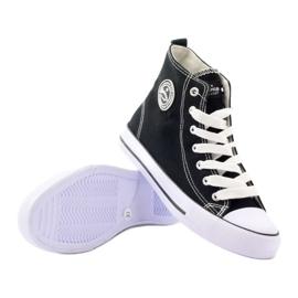 American Club High Sneakers LH02 black 3