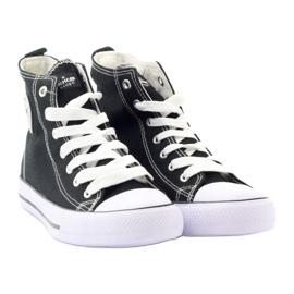 American Club High Sneakers LH02 black 4