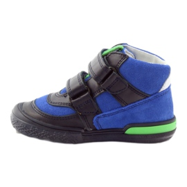 Pomegranate shoes Velcro Bartek 91756 multicolored blue green 2