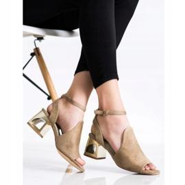 Filippo Stylish Built Sandals beige 4