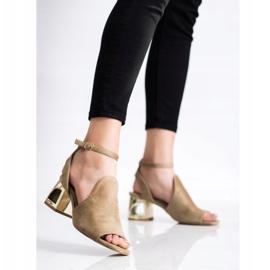 Filippo Stylish Built Sandals beige 1