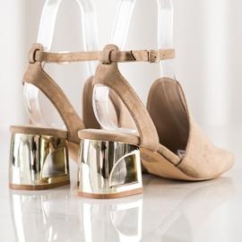 Filippo Stylish Built Sandals beige 2