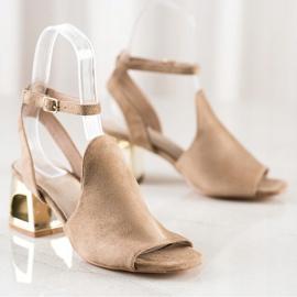 Filippo Stylish Built Sandals beige 3