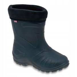 Befado children's navy blue rain boots 162P103 1