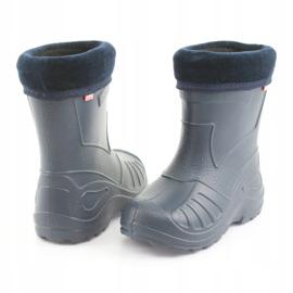 Befado children's navy blue rain boots 162P103 4