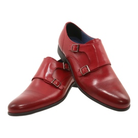 Lukas Leather formal shoes Monki 287LU red 15