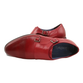 Lukas Leather formal shoes Monki 287LU red 16