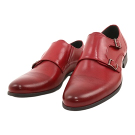 Lukas Leather formal shoes Monki 287LU red 13