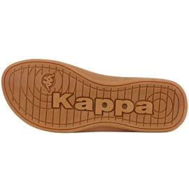 Kappa Fayola beige women's slippers 242980 4150 brown 3