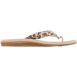 Kappa Fayola beige women's slippers 242980 4150 brown 1