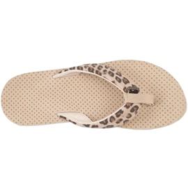 Kappa Fayola beige women's slippers 242980 4150 brown 2