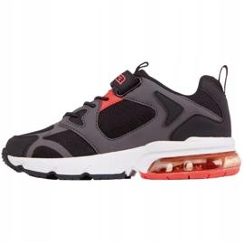 Kappa Yero Jr 260891K shoes black red 2