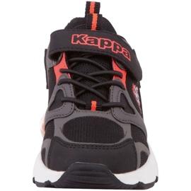 Kappa Yero Jr 260891K shoes black red 4