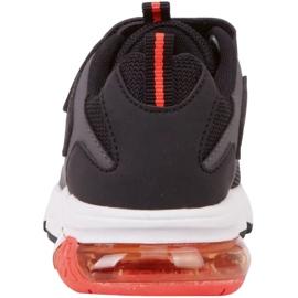 Kappa Yero Jr 260891K shoes black red 5