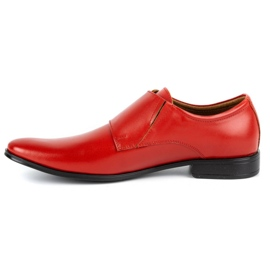 Lukas Leather formal shoes Monki 287LU red 5