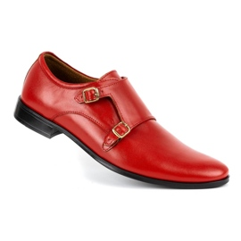 Lukas Leather formal shoes Monki 287LU red 6