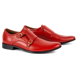 Lukas Leather formal shoes Monki 287LU red 7