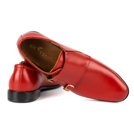 Lukas Leather formal shoes Monki 287LU red 9